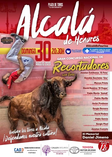 Cartel recortes Alcala 2020 - Plazas